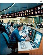 BSkyB's digital TV control centre