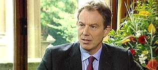 The Prime Minister Tony Blair