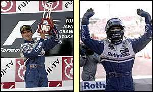 Murray was moved when Damon Hill became world champion in 1996