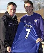 Matthew Jones was a Leeds reserve when he was signed by Taylor