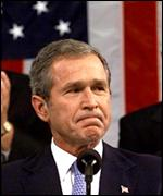 President Bush addresses Congress