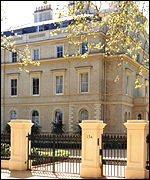 15a Kensington Palace Gardens, one of London's most expensive properties
