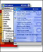 Pocket PC software