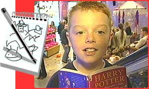 Harry Potter Games Press Packer Geraint