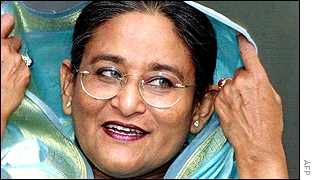 Awami League leader Sheikh Hasina