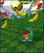 Super Monkey Ball, launch game