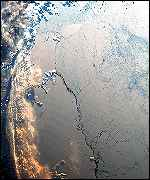Antarctic ice shelf Esa