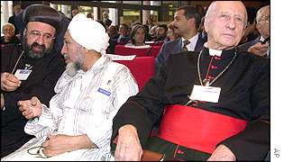 Religious leaders at the Rome summit