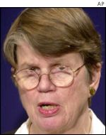Former Attorney General Janet Reno