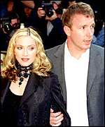 Madonna and Guy Ritiche