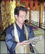 Japanese priest, BBC