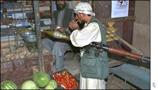 Afghanistan opposition fighter
