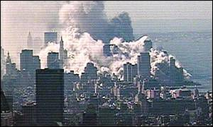 Aftermath of the collapse of the World Trade Center on 11 September