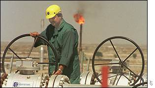 Oil worker in Kuwait