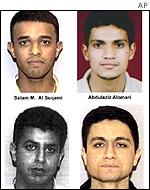 FBI photographs of the hijackers