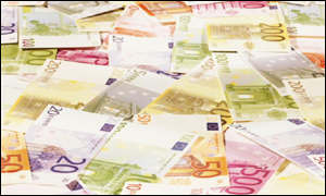 Euro currency - notes