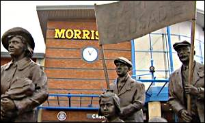 Jarrow Marchers statue