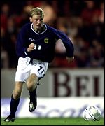 Stephen Hughes made his Scotland debut