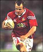 Austin Healey in action for the Lions