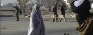 A taleban observer on the streets of Afghanistan