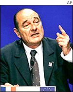 President Chirac of France