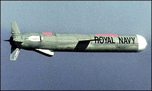 A Tomahawk missile