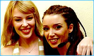 Kylie and Danni Minogue