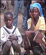 Two children in Konia