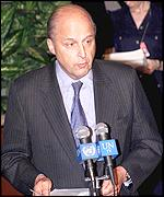 US ambassador to the UN, John Negroponte