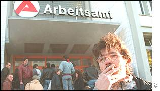 German job centre