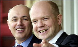 Iain Duncan Smith (left) and William Hague