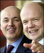Iain Duncan Smith and William Hague