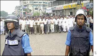 Awami League demonstration
