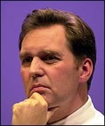 Alan Milburn, Health Secretary