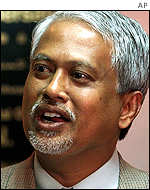 PAS youth leader Mahfuz Omar
