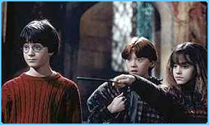 Harry Potter, Hermioine Grainger and Ron Weasley
