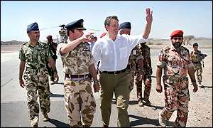 Tony Blair in Oman