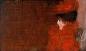 Klimt's Portrait Of A Lady In Red