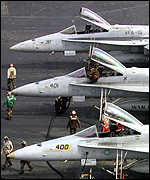 F-18 fighters