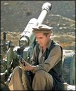 Afghan fighter with howitzer