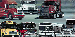 Freightliner trucks and commercial vehicles