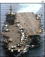 USS Enterprise in the Arabian Sea