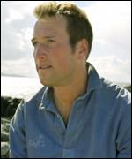 Ben Fogle from the BBC series Castaway