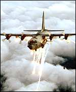 The AC130 gunship
