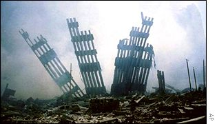 Ruins of the World Trade Centre