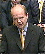[ image: Hague: Asked for assurance on decommissioning]