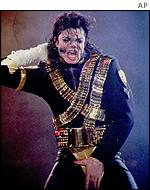 Jackson was at the height of his fame in the 1980s
