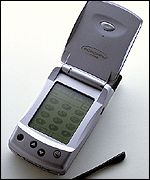 Motorola phone with a traditional PDA