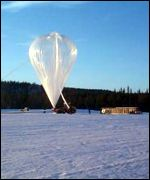 Ozone probe balloon EORCU