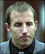 Lee Bowyer outside court on 15 October: